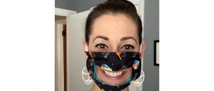 Buy Clear Face Masks For People With Hearing Problems That Have Windows For Lip Reading